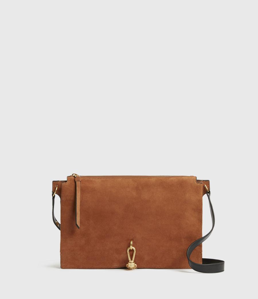 Women's Sheringham Suede Shoulder Bag (desert) - Image 2
