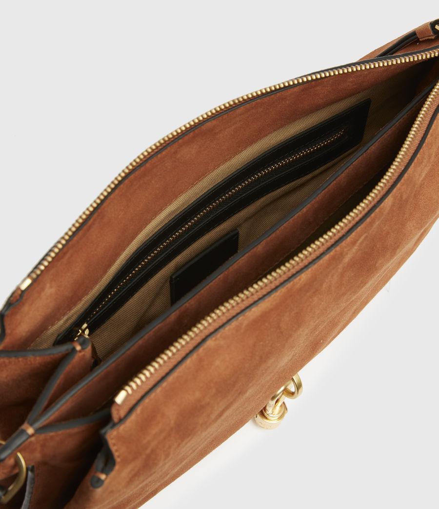 Women's Sheringham Suede Shoulder Bag (desert) - Image 3