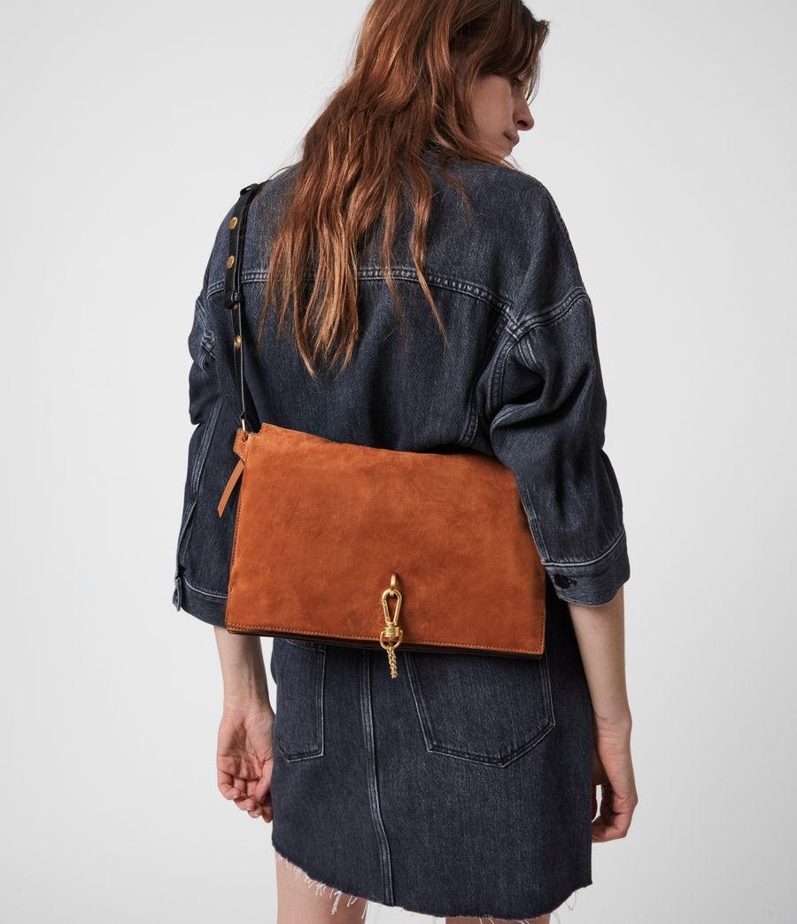 Women's Sheringham Suede Shoulder Bag (desert) - Image 4