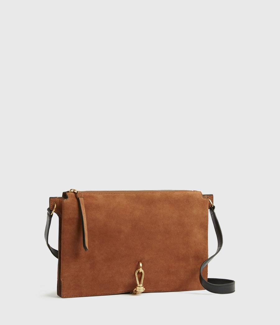 Women's Sheringham Suede Shoulder Bag (desert) - Image 5