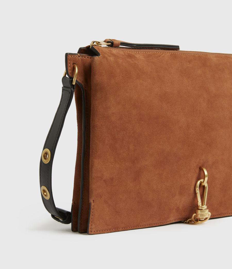 Women's Sheringham Suede Shoulder Bag (desert) - Image 6