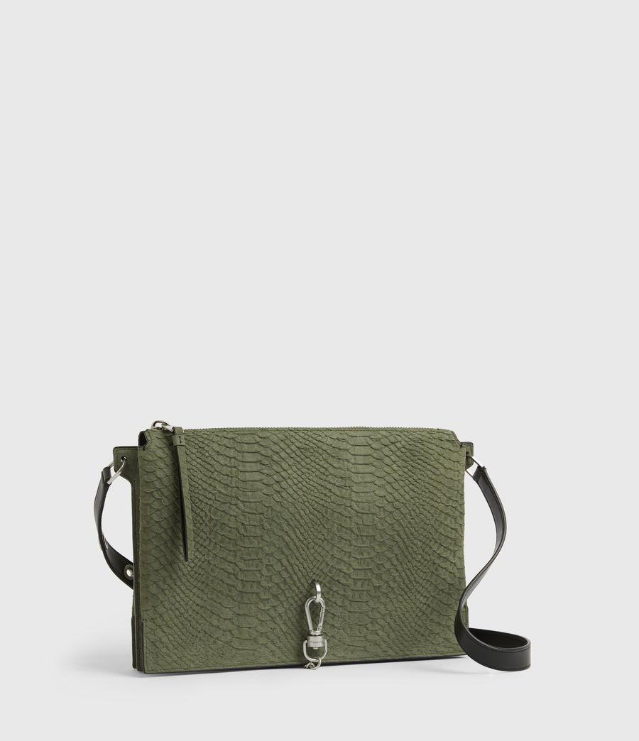 Women's Sheringham Nubuck Shoulder Bag (sage_green) - Image 4