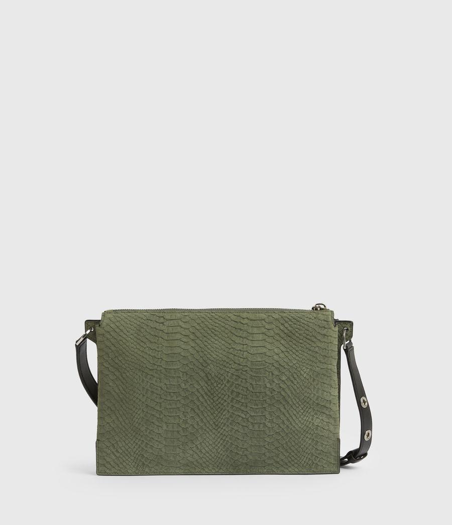 Women's Sheringham Nubuck Shoulder Bag (sage_green) - Image 7