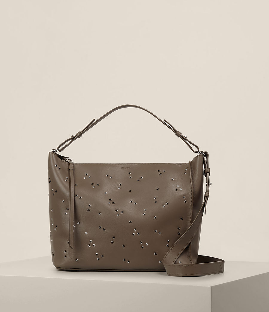 Donne Junai Crossbody (mink_grey) - Image 1