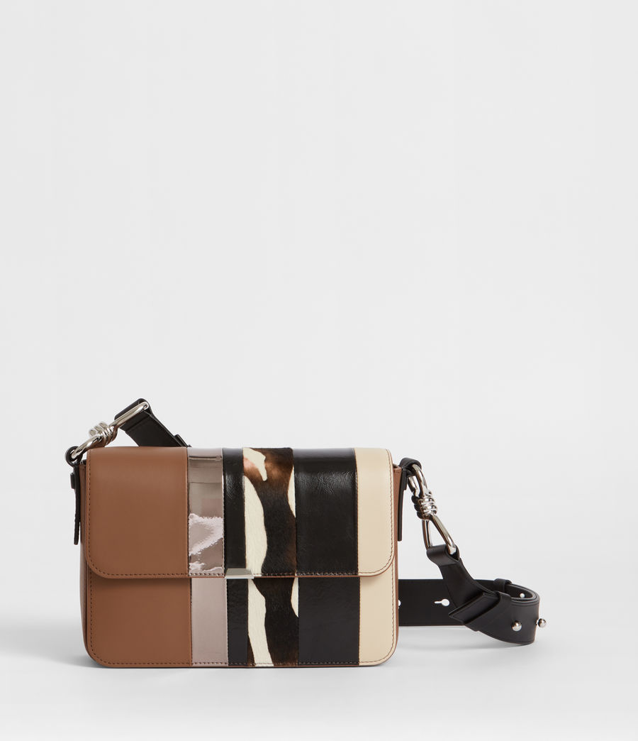 Donne Borsa Captain Flap (brown_stripe) - Image 1