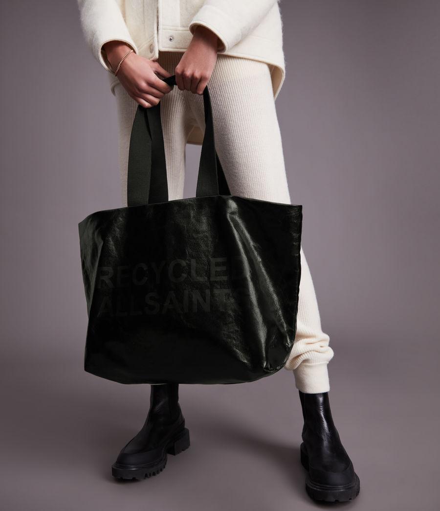 Femmes Acari Print Tote Bag (liquid_black) - Image 1