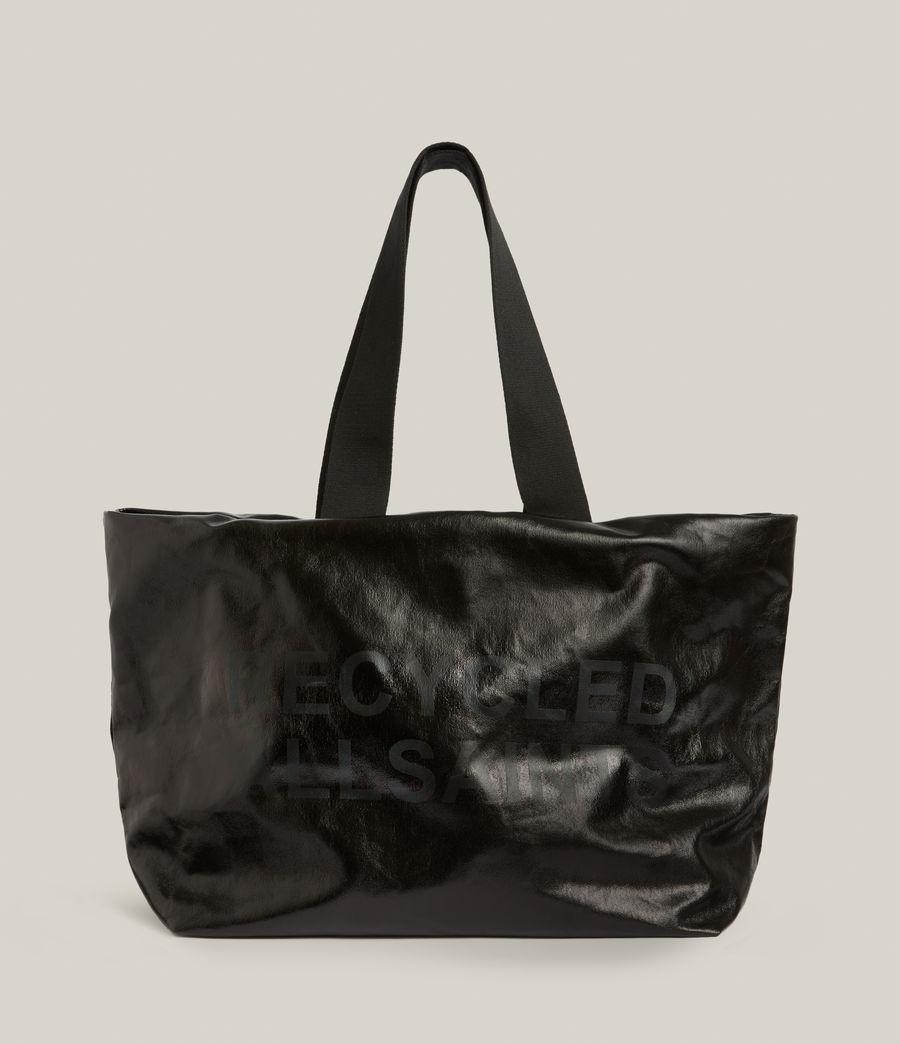 Femmes Acari Print Tote Bag (liquid_black) - Image 2