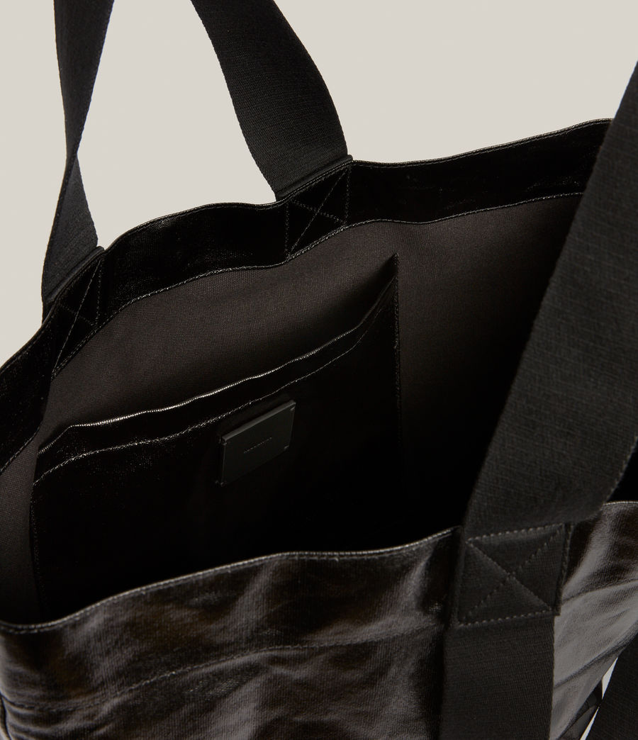 Femmes Acari Print Tote Bag (liquid_black) - Image 3