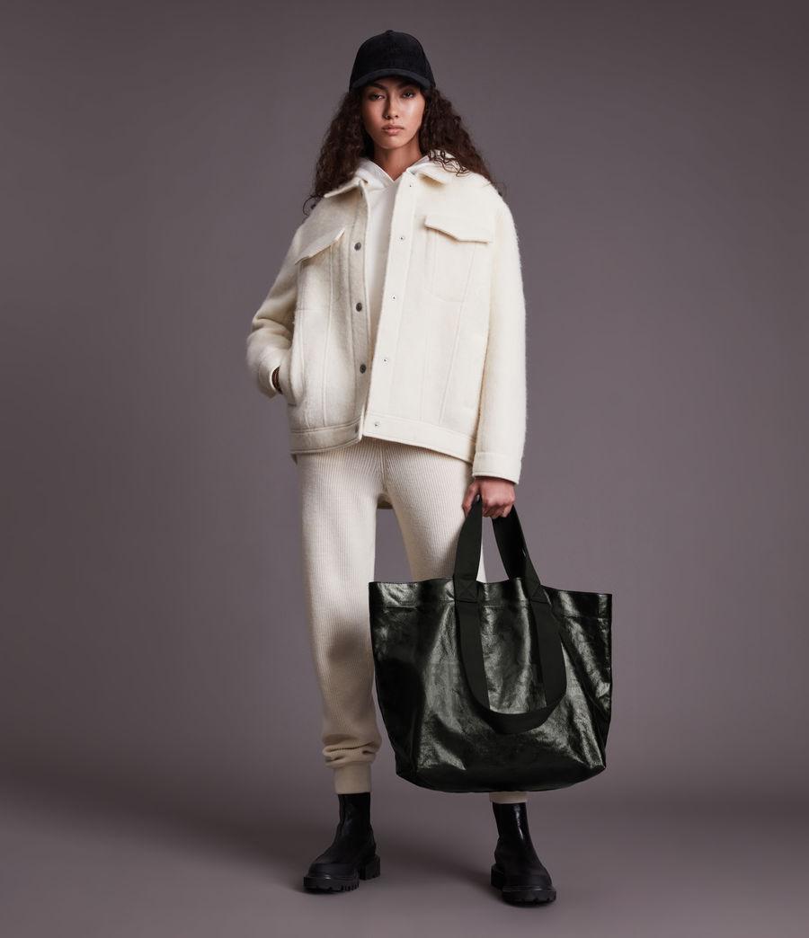 Femmes Acari Print Tote Bag (liquid_black) - Image 4