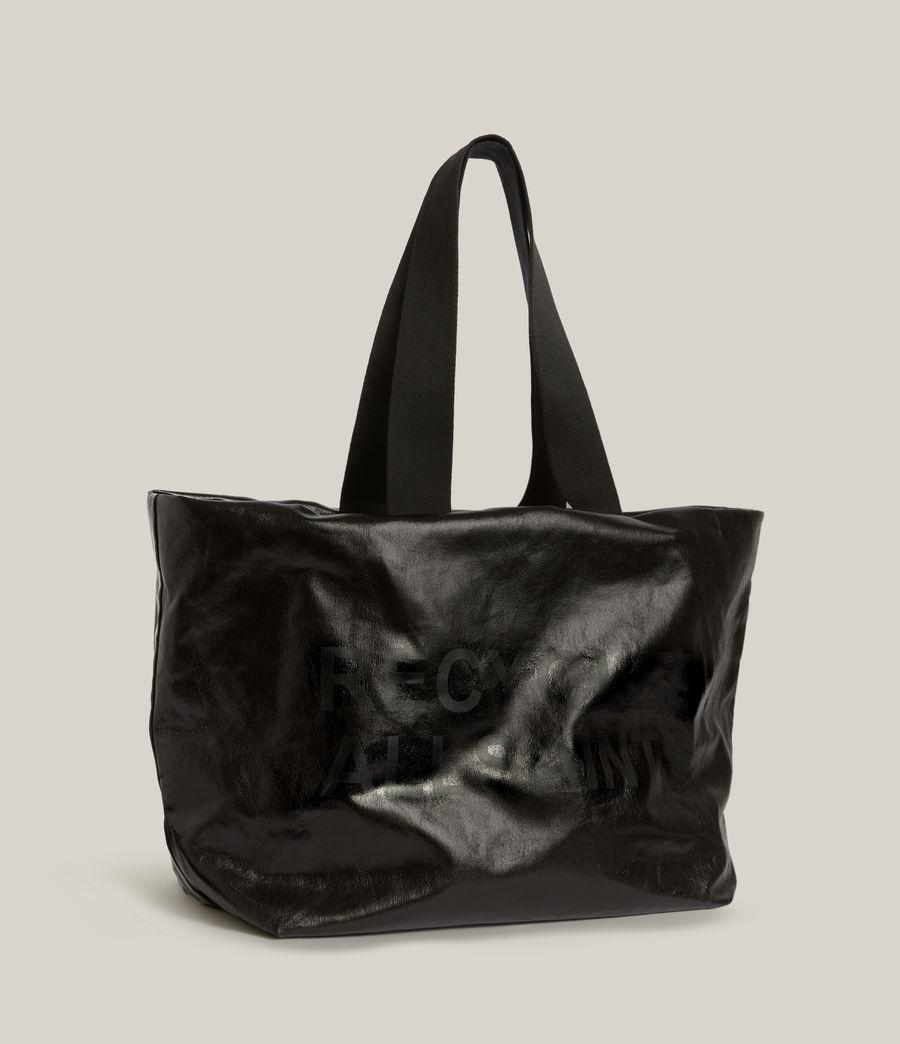 Femmes Acari Print Tote Bag (liquid_black) - Image 6