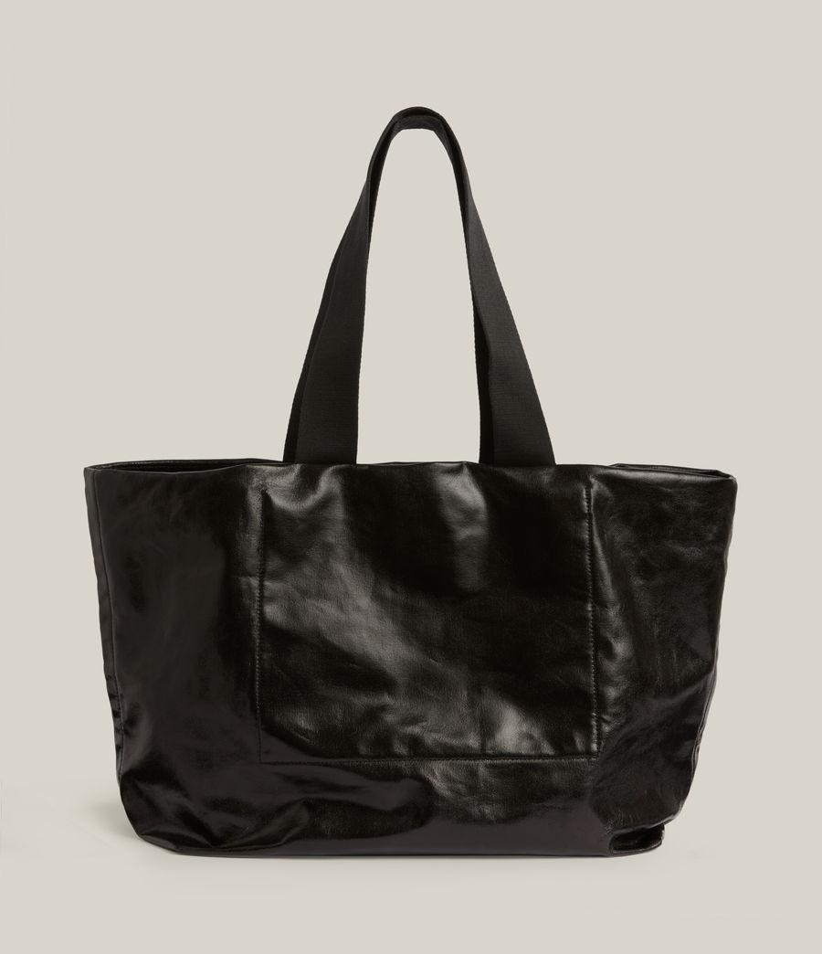 Femmes Acari Print Tote Bag (liquid_black) - Image 8