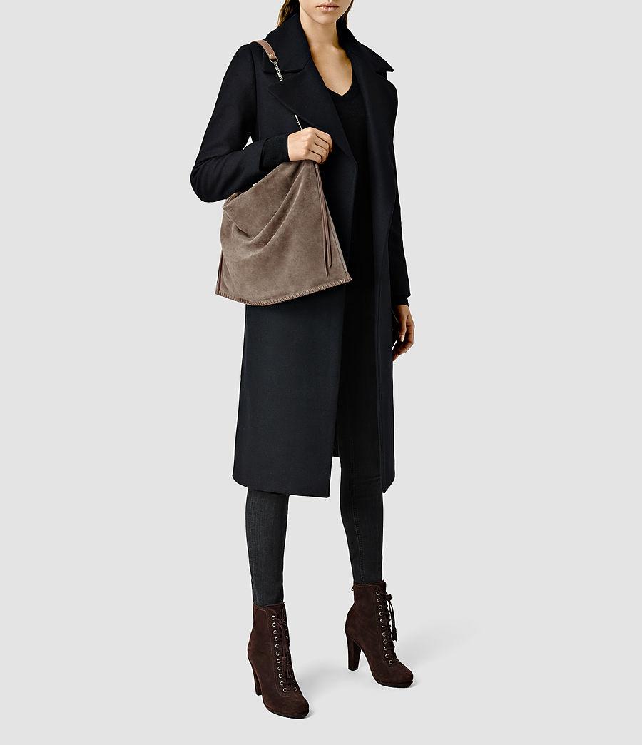 Donne Fleur De Lis Large Bag (almond_taupe) - Image 1