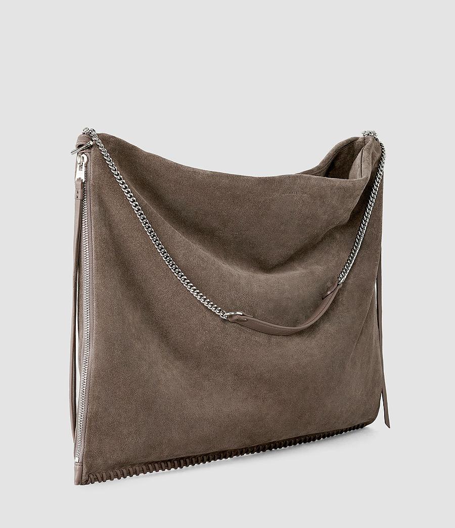 Donne Fleur De Lis Large Bag (almond_taupe) - Image 4