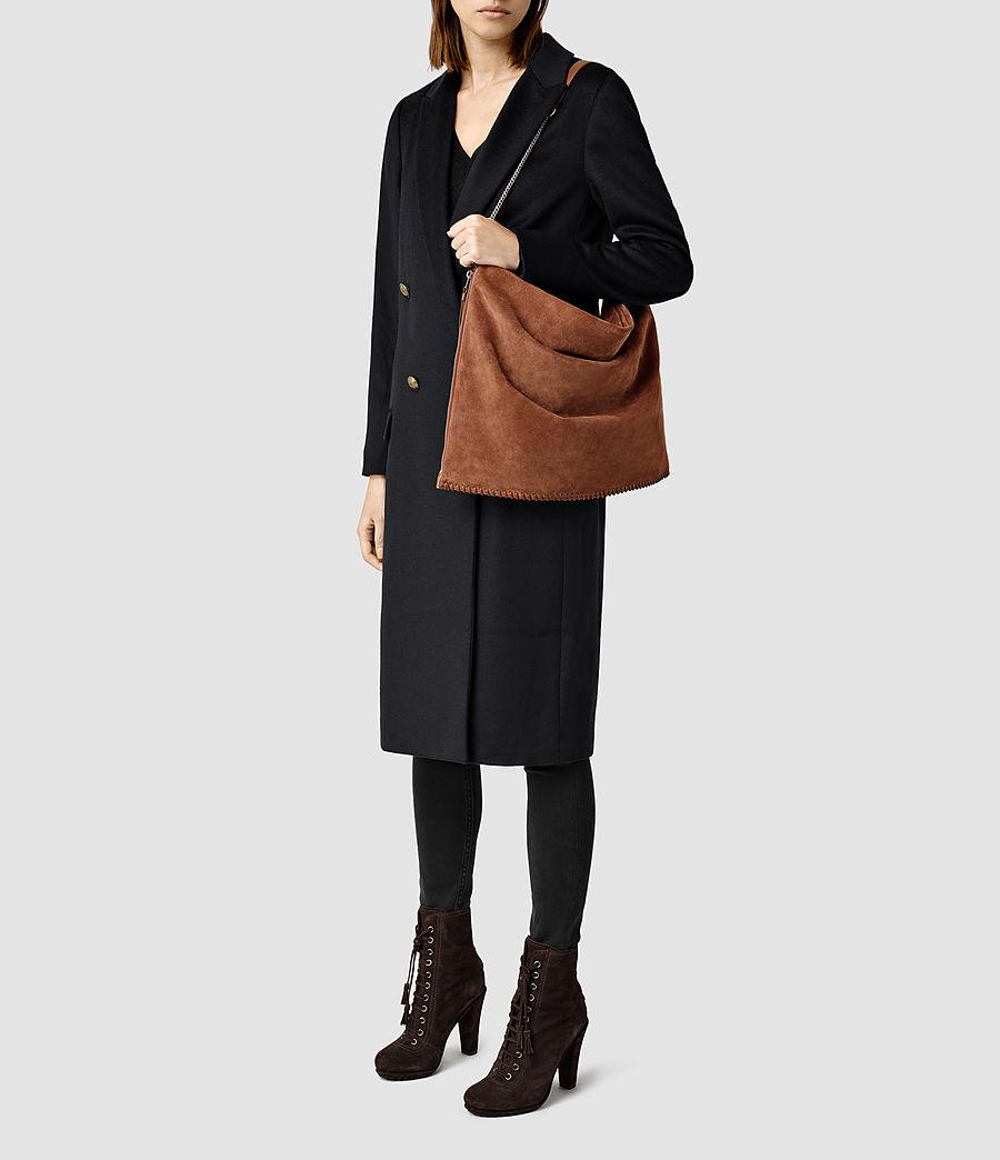 Donne Fleur De Lis Large Bag (woody_tan) - Image 1