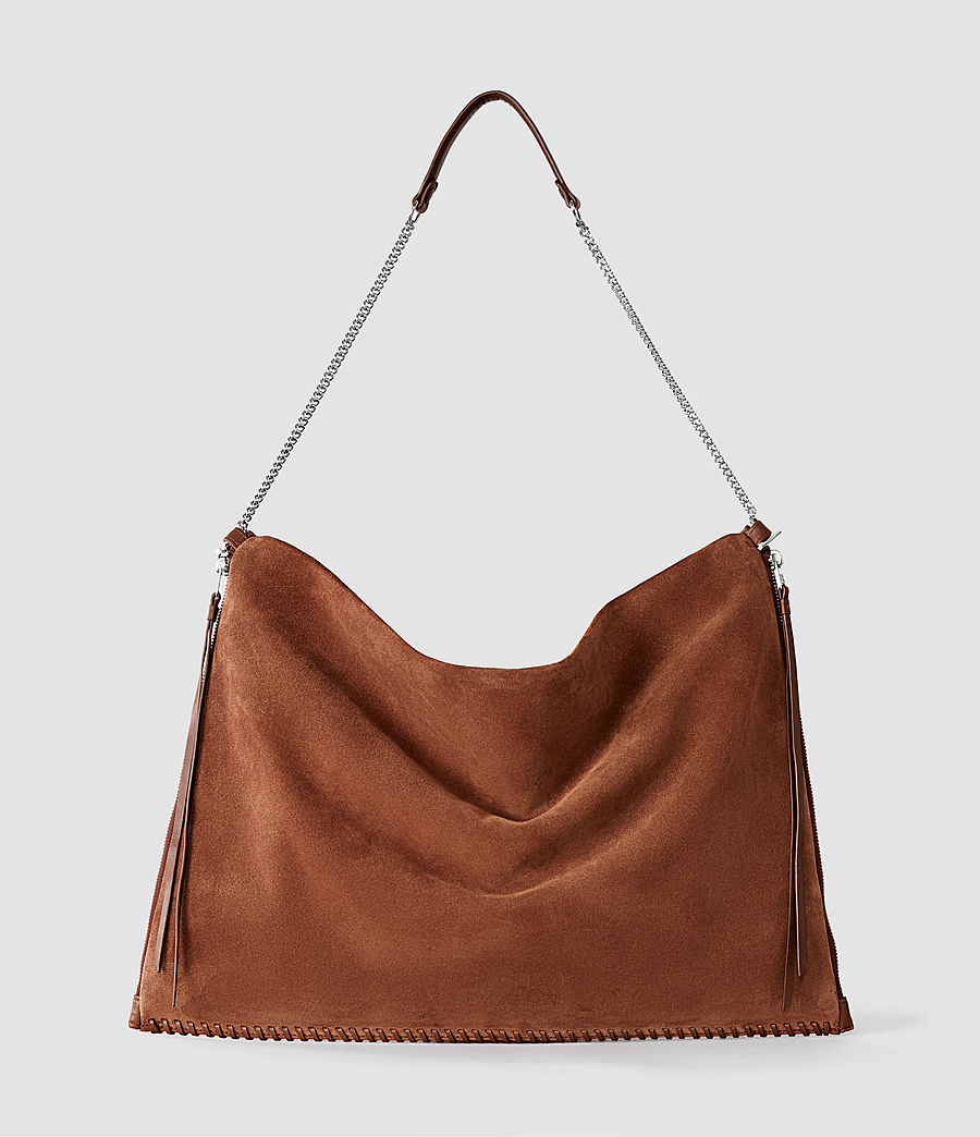 Damen Fleur De Lis Large Bag (woody_tan) - Image 2