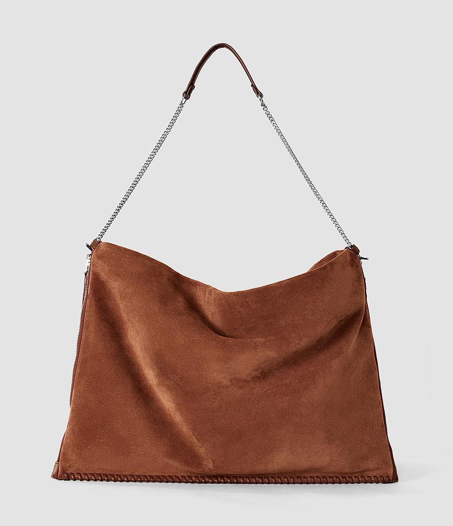 Damen Fleur De Lis Large Bag (woody_tan) - Image 4