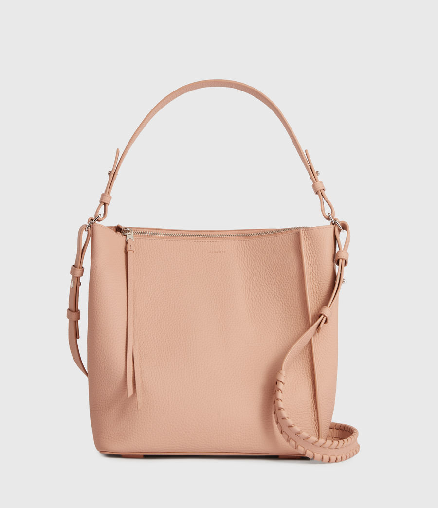 Mujer Kita Leather Crossbody Bag (nude_pink) - Image 1