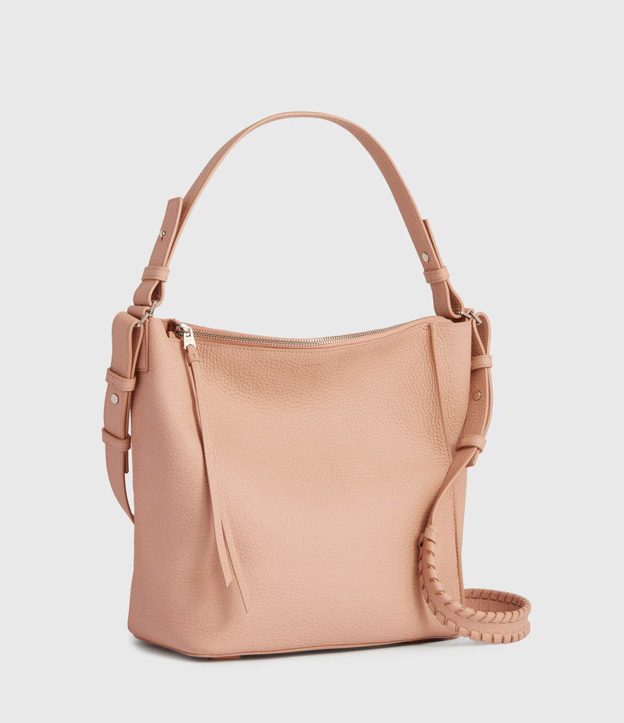 Mujer Kita Leather Crossbody Bag (nude_pink) - Image 2
