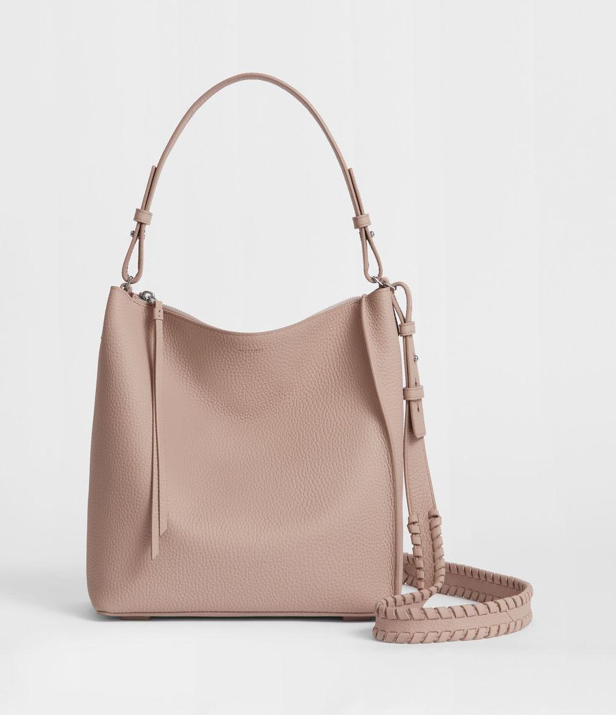 Women's Kita Leather Crossbody Bag (sand_beige) - Image 1