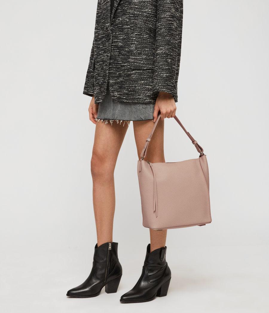 Women's Kita Leather Crossbody Bag (sand_beige) - Image 2