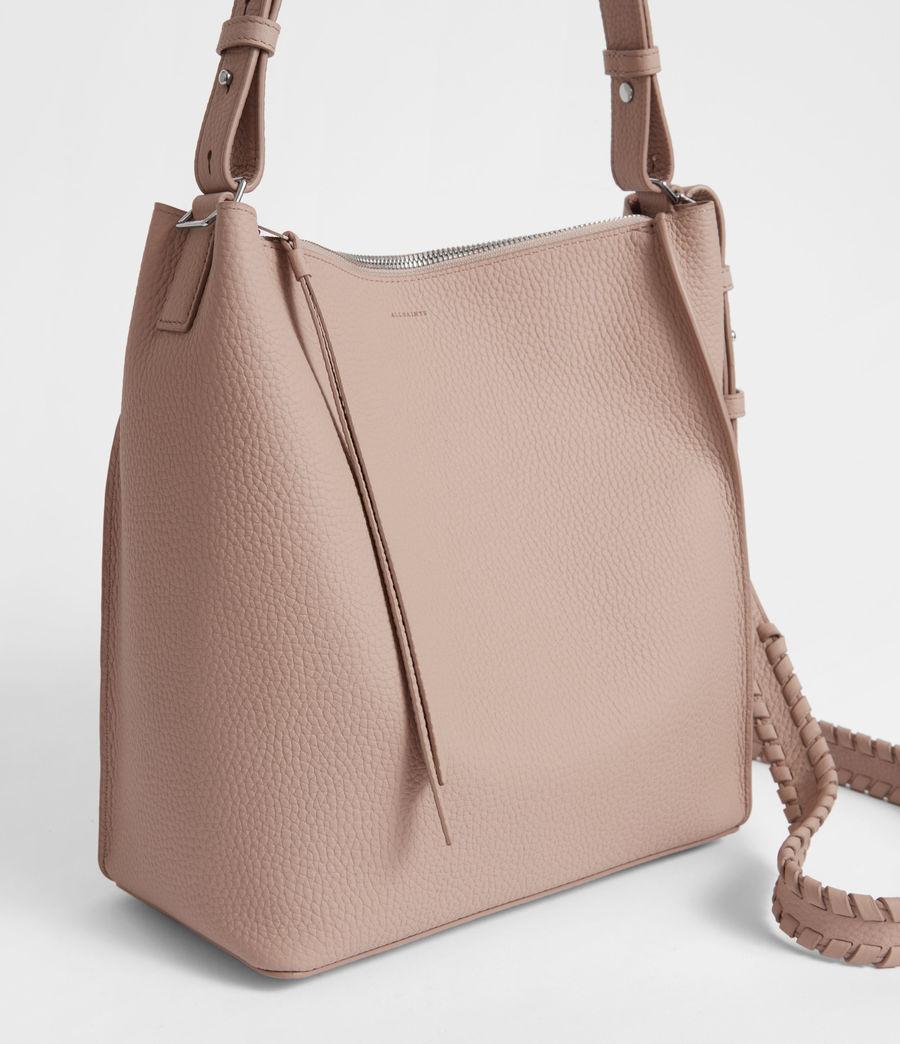 Women's Kita Leather Crossbody Bag (sand_beige) - Image 3