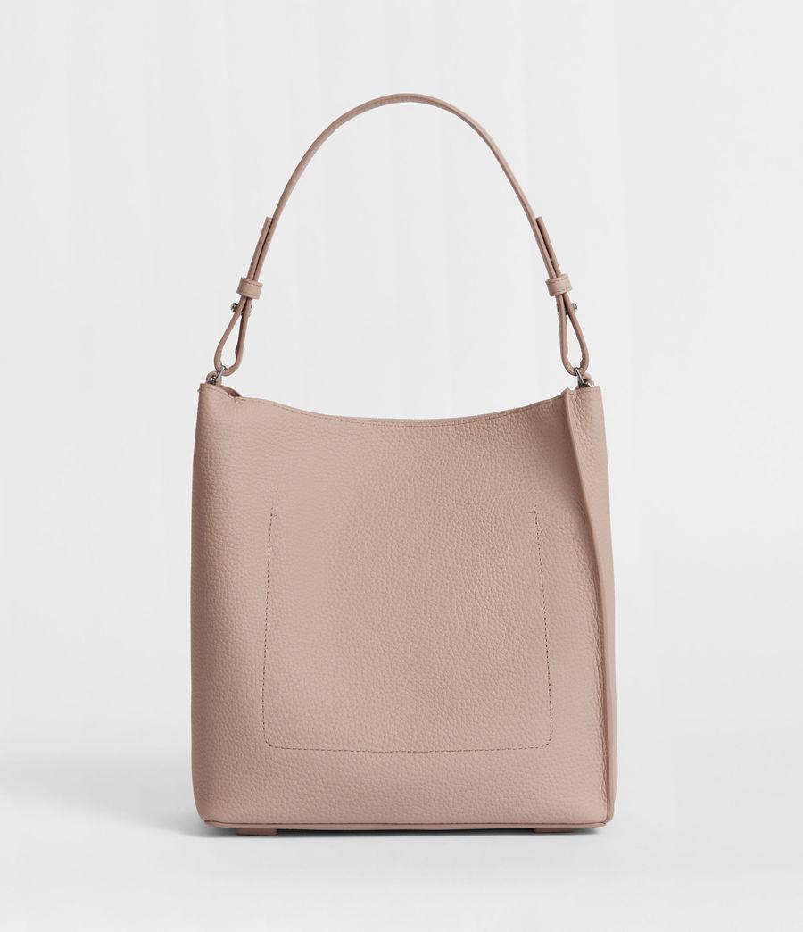 Women's Kita Leather Crossbody Bag (sand_beige) - Image 4