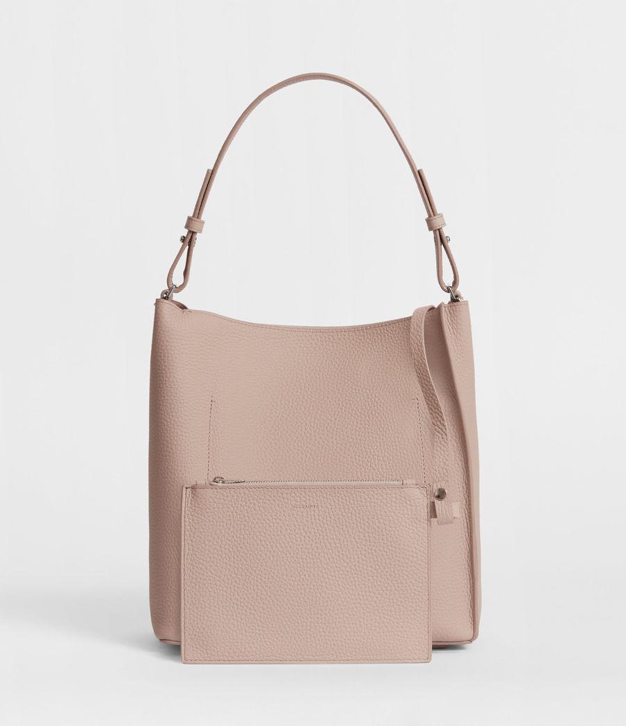 Women's Kita Leather Crossbody Bag (sand_beige) - Image 5