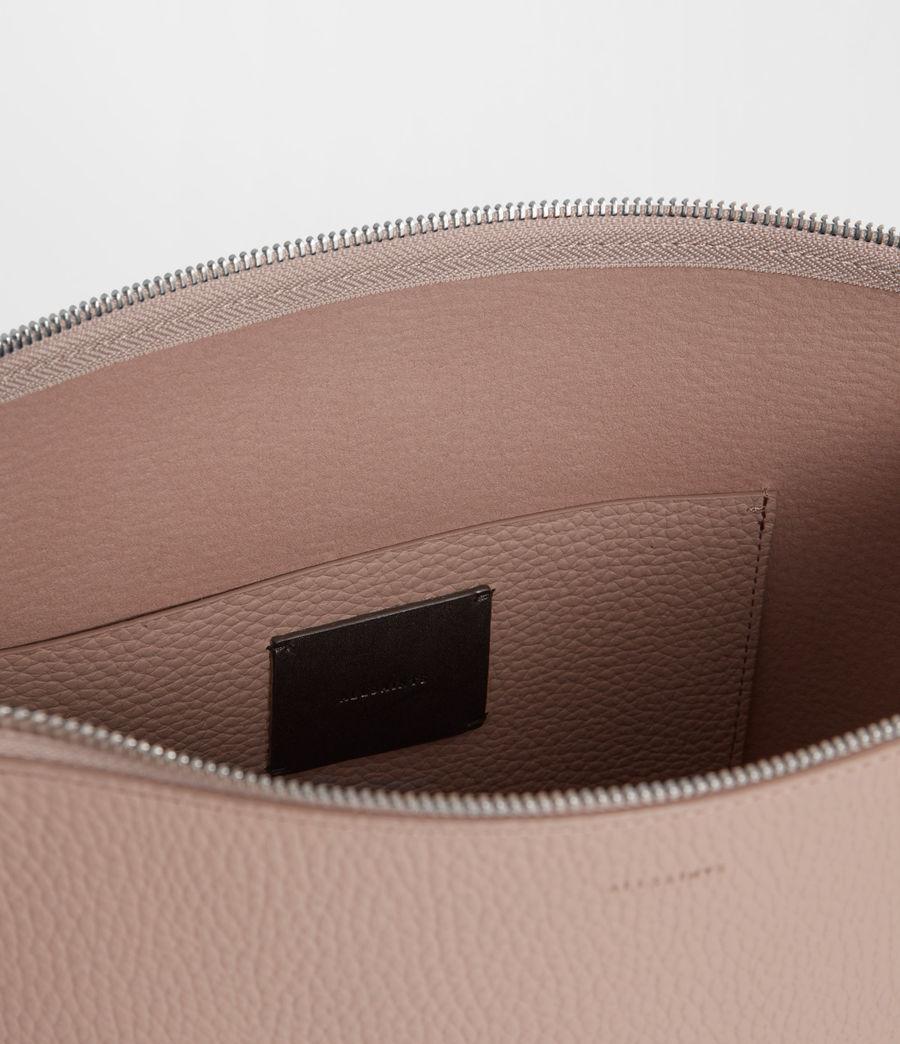 Women's Kita Leather Crossbody Bag (sand_beige) - Image 6