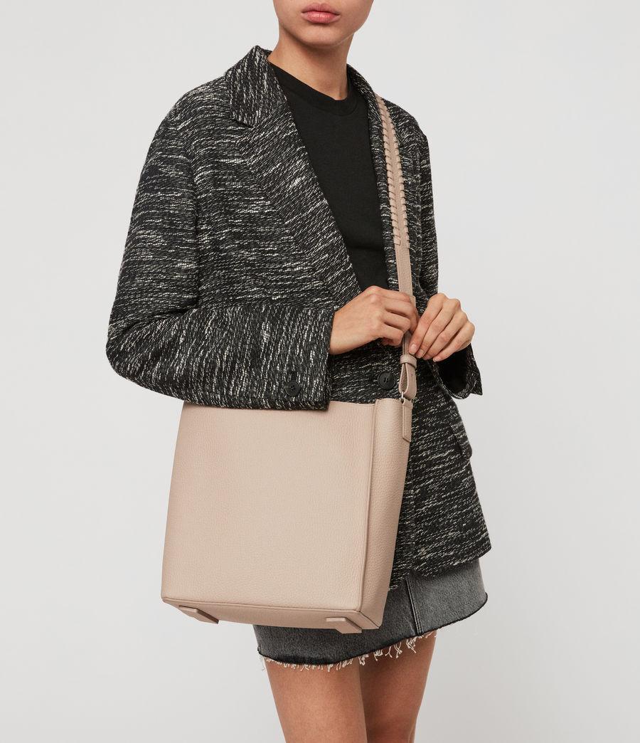 Women's Kita Leather Crossbody Bag (sand_beige) - Image 7