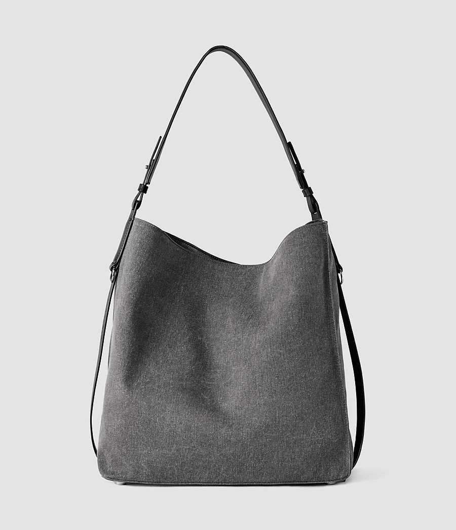 Donne Paradise North South Tote (washed_black_blk) - Image 2
