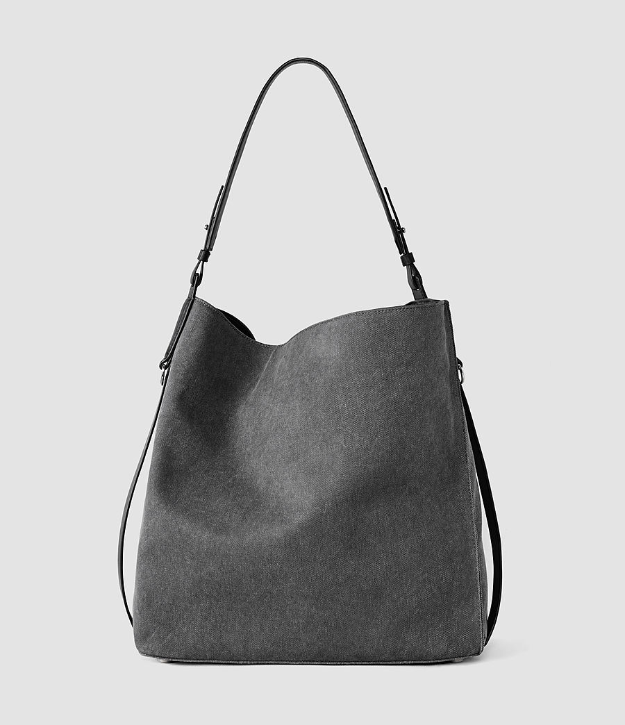 Donne Paradise North South Tote (washed_black_blk) - Image 3