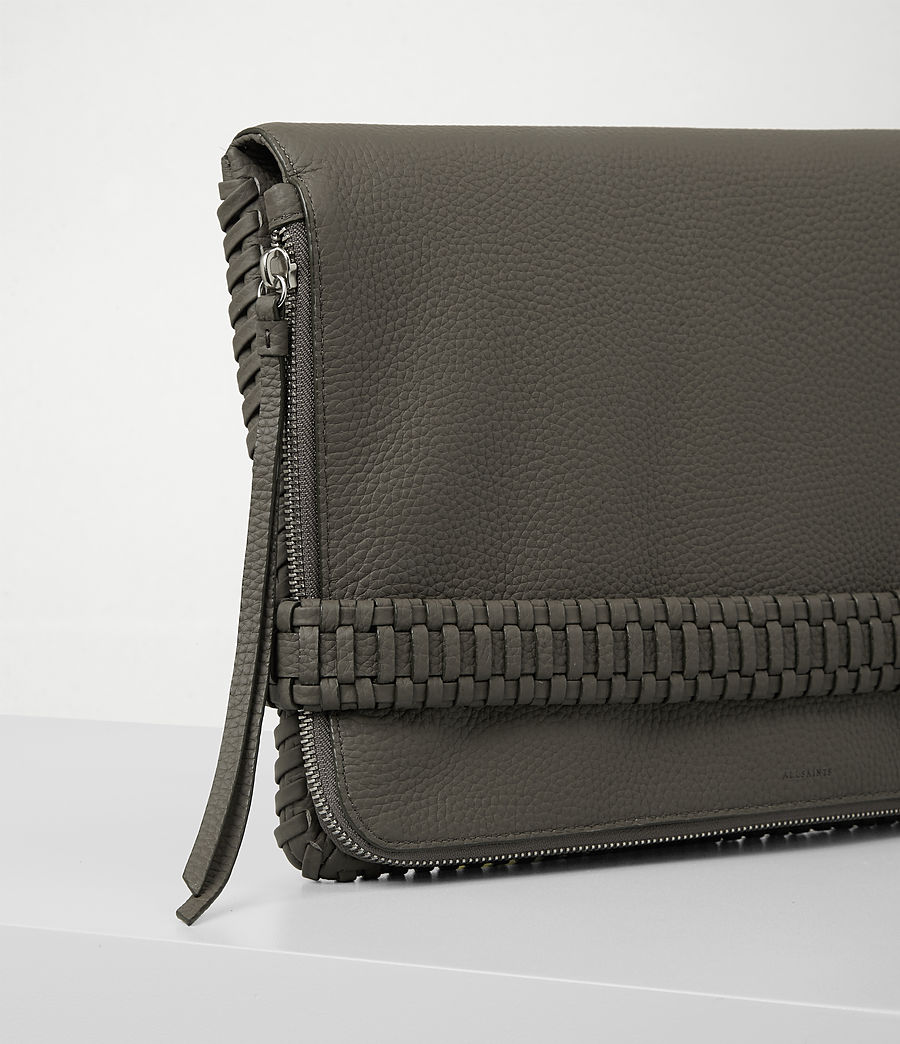 Damen Club Large Clutch (mink_grey) - Image 3