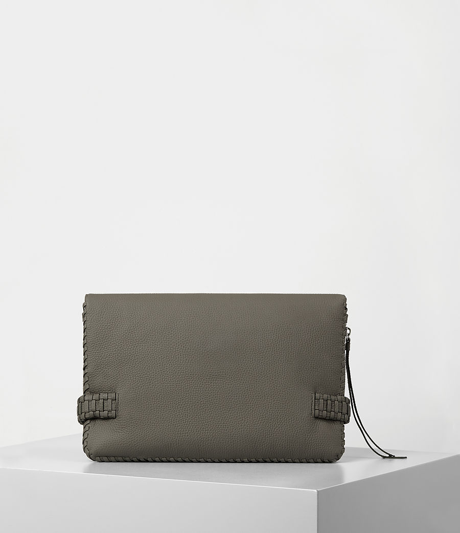 Damen Club Large Clutch (mink_grey) - Image 6