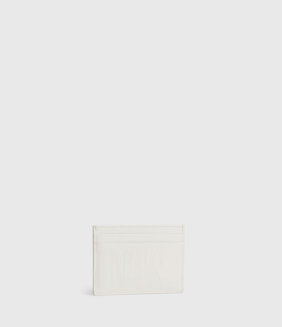 Womens Cowper Leather Card Case (grey_mist) - Image 3