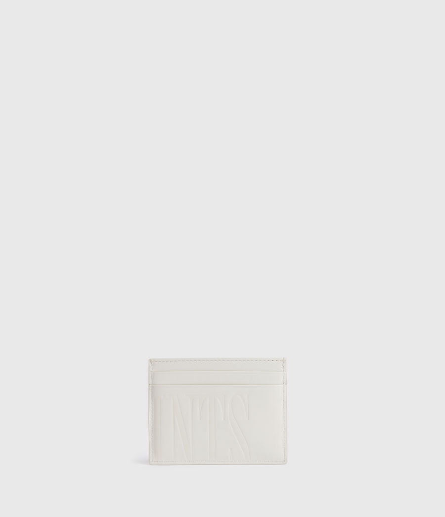 Womens Cowper Leather Card Case (grey_mist) - Image 4