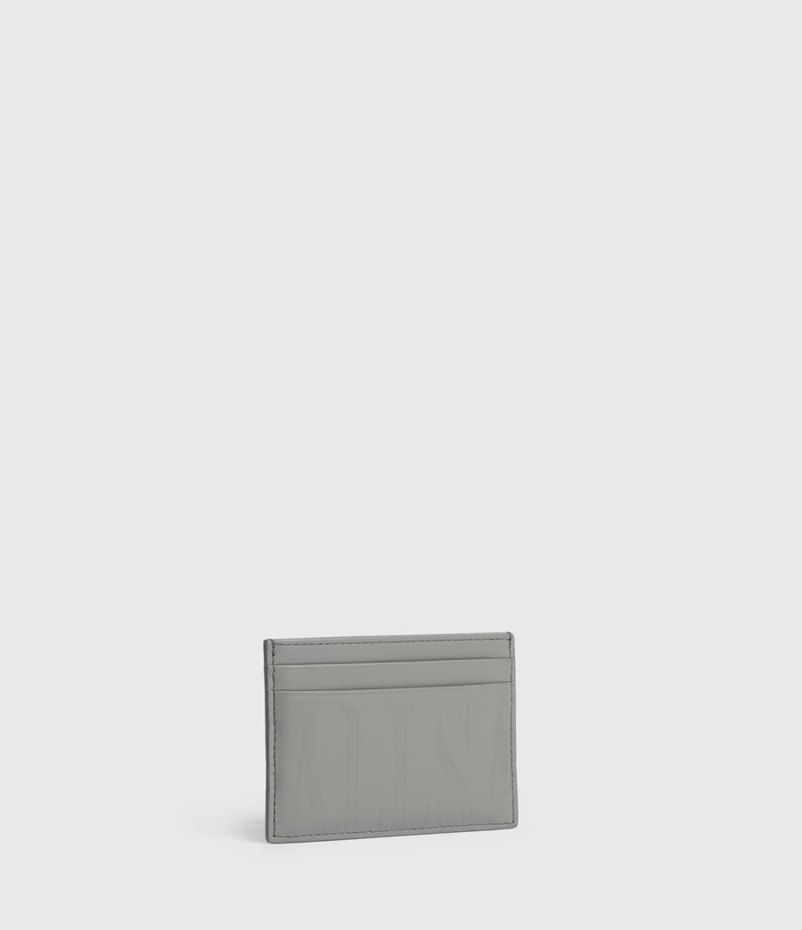 Womens Cowper Leather Card Case (chalk_white) - Image 3