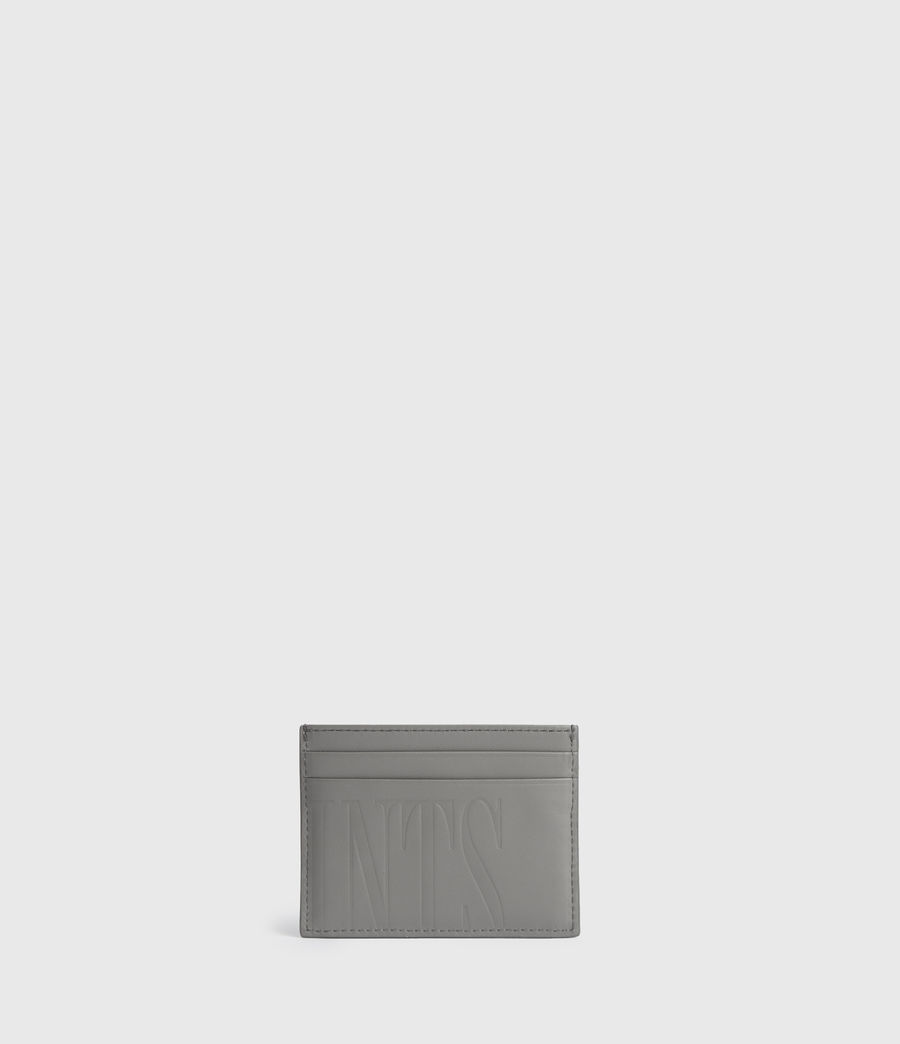Womens Cowper Leather Card Case (chalk_white) - Image 4