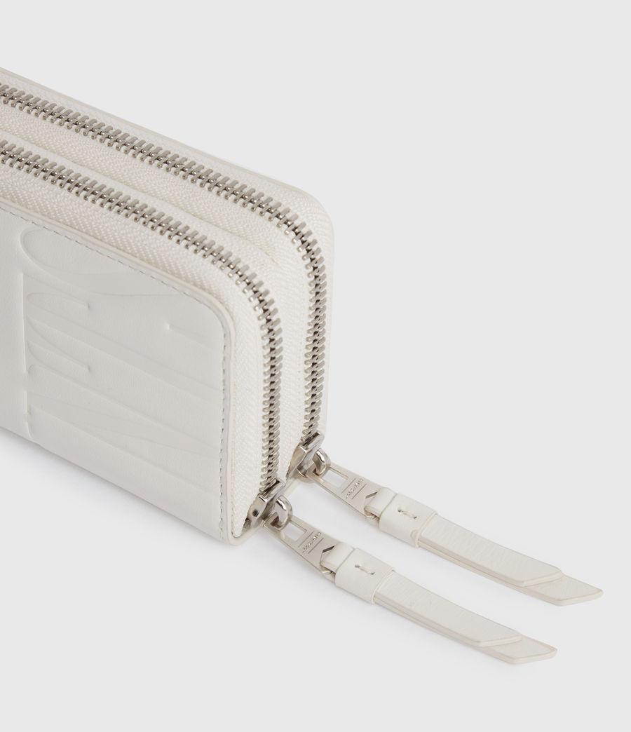Women's Nantes Leather Cardholder (chalk_white) - Image 2