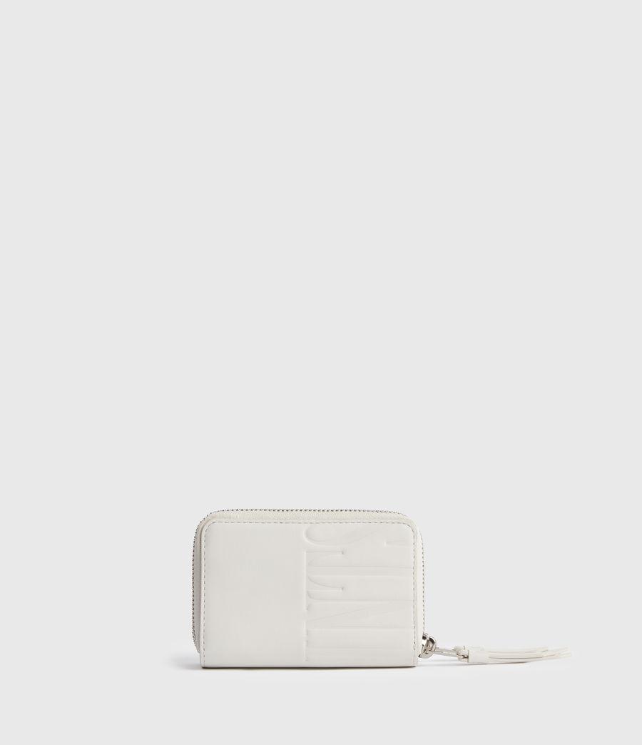 Women's Nantes Leather Cardholder (chalk_white) - Image 5