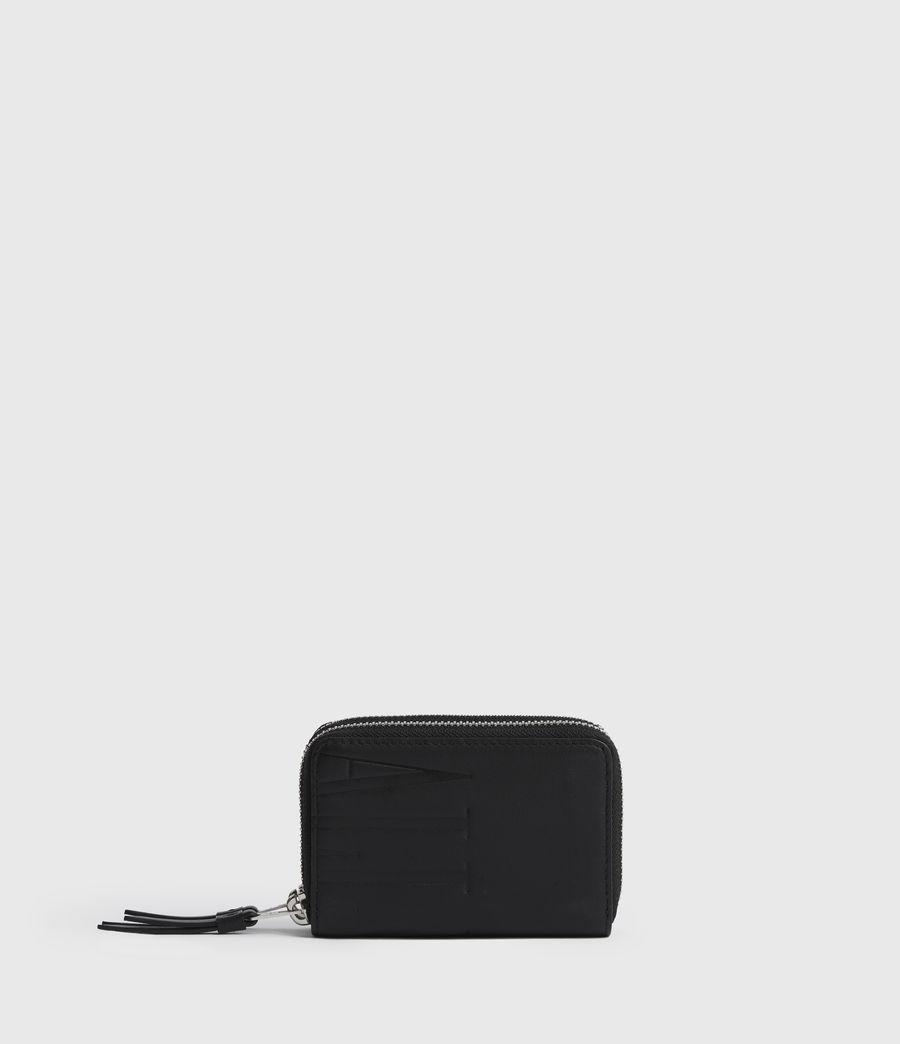 Women's Nantes Leather Cardholder (black) - Image 1