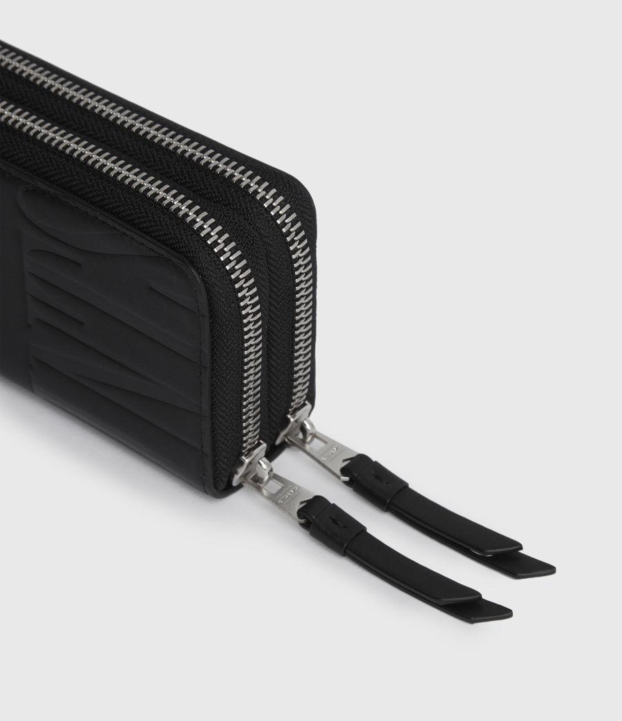 Women's Nantes Leather Cardholder (black) - Image 2