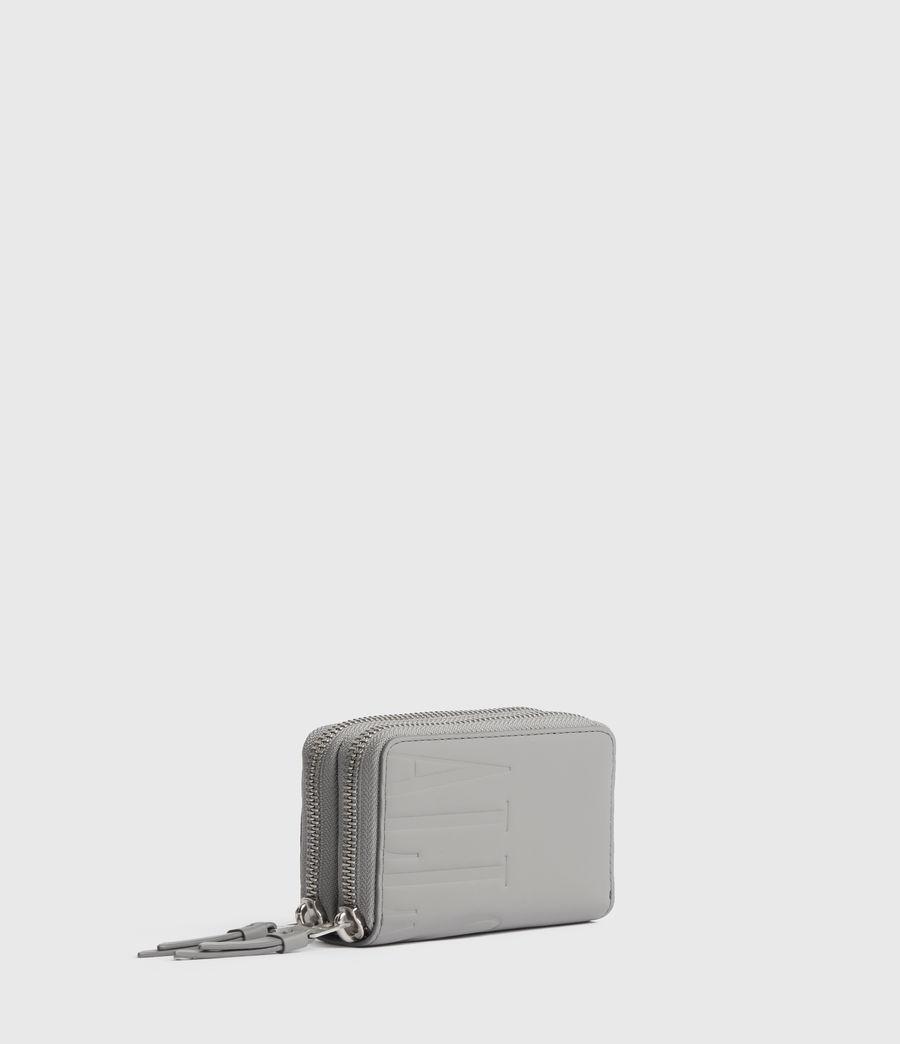 Women's Nantes Leather Cardholder (black) - Image 3