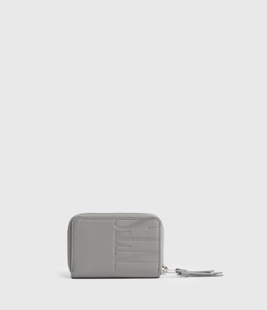 Women's Nantes Leather Cardholder (black) - Image 5
