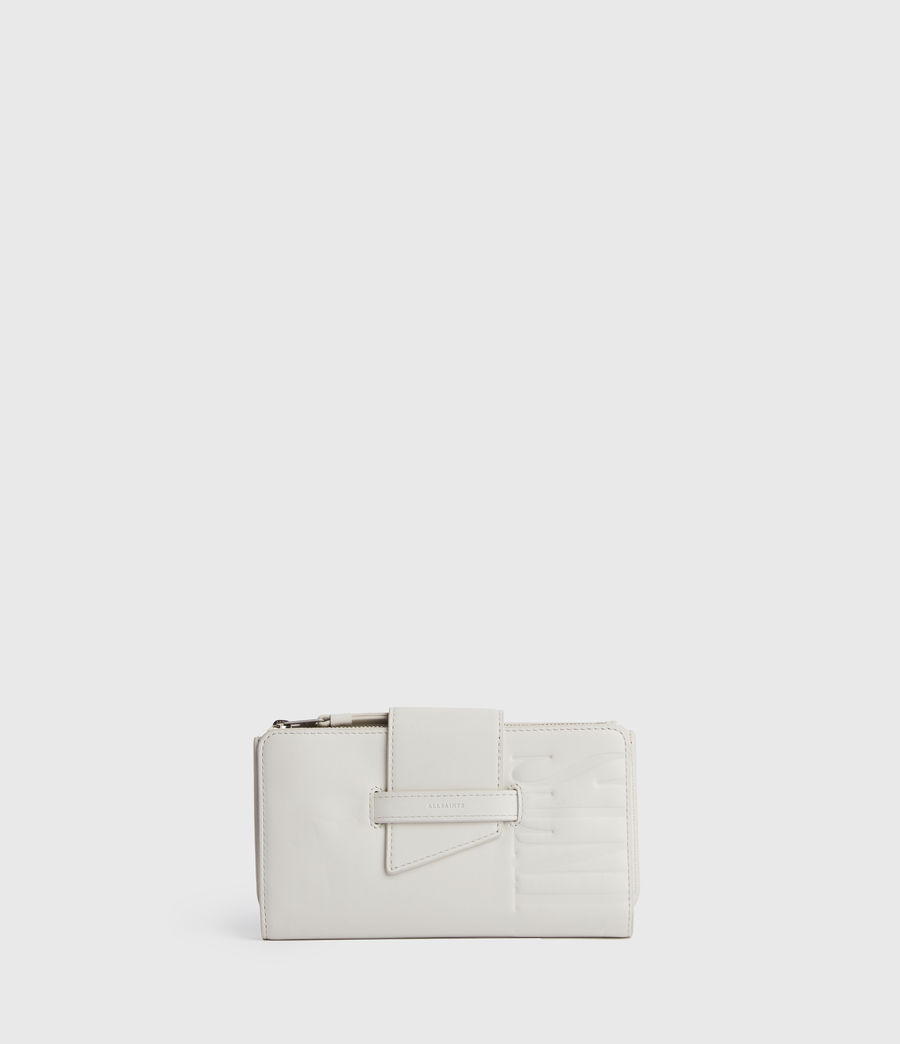Womens Mallow Leather Wallet (chalk_white) - Image 1
