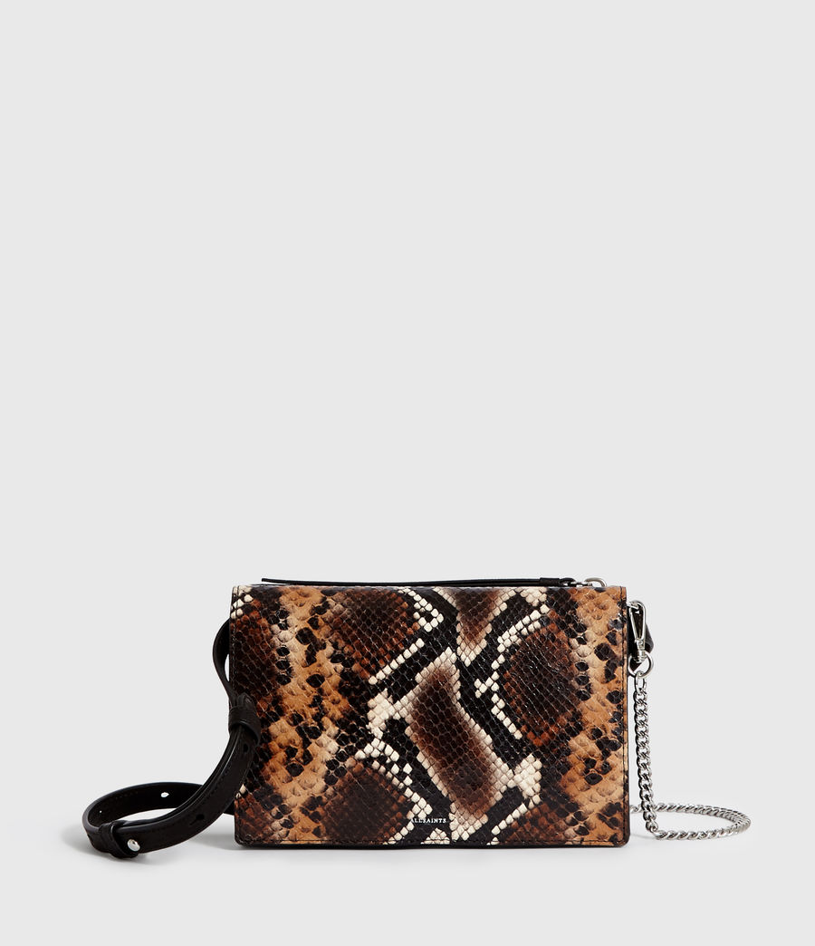 Mujer Bolso Monedero en Ante Fetch Sliver Chain (brown) - Image 1