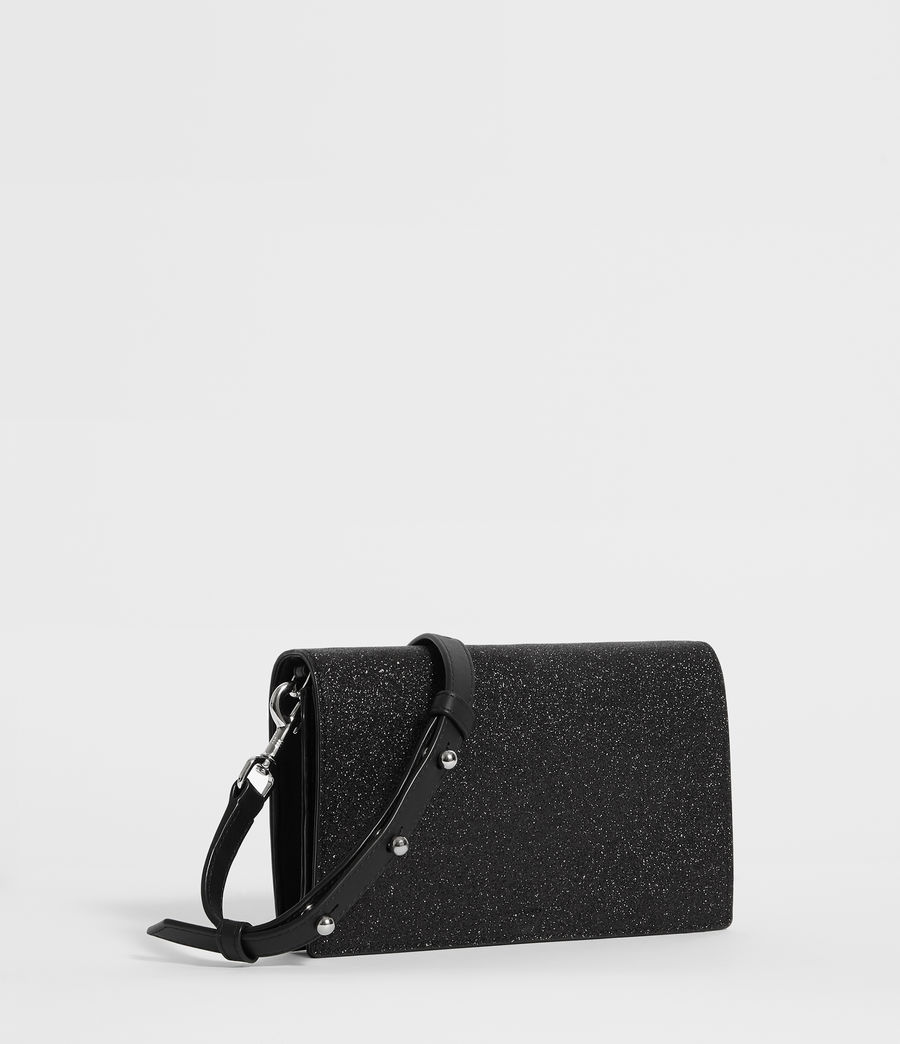 Women's Sid Box Bag (shiny_black) - Image 4