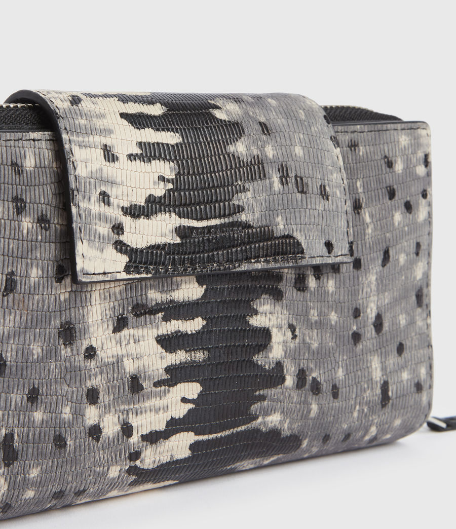 Womens Daubeney Leather Wallet (grey_multi) - Image 3