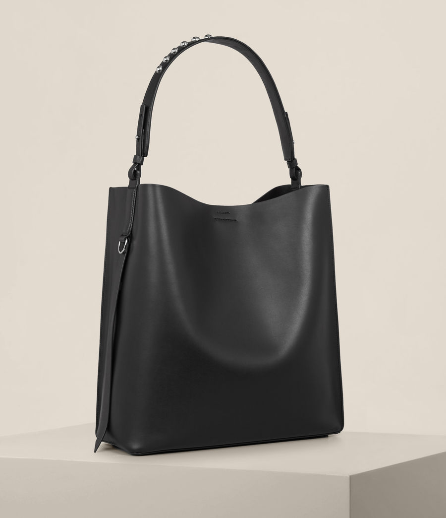 Womens Suzi North South Tote (black) - Image 4