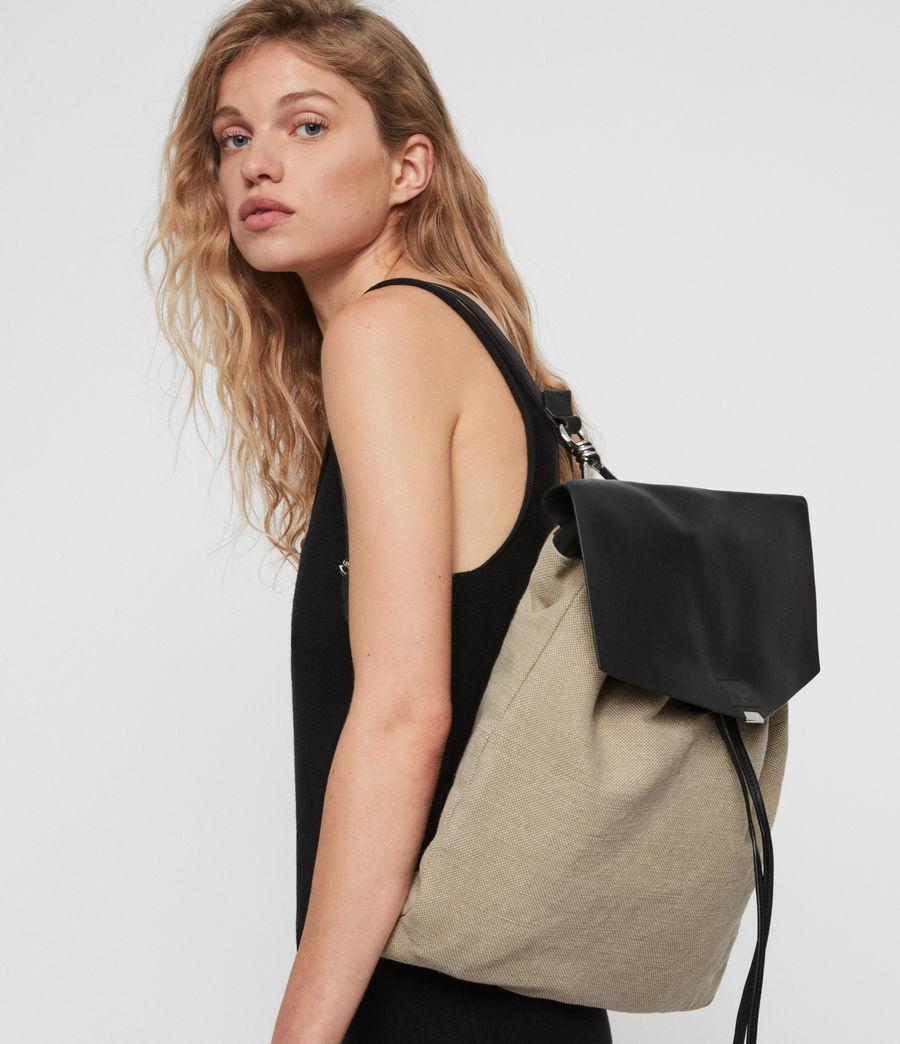 Womens Playa Backpack (natural) - Image 3