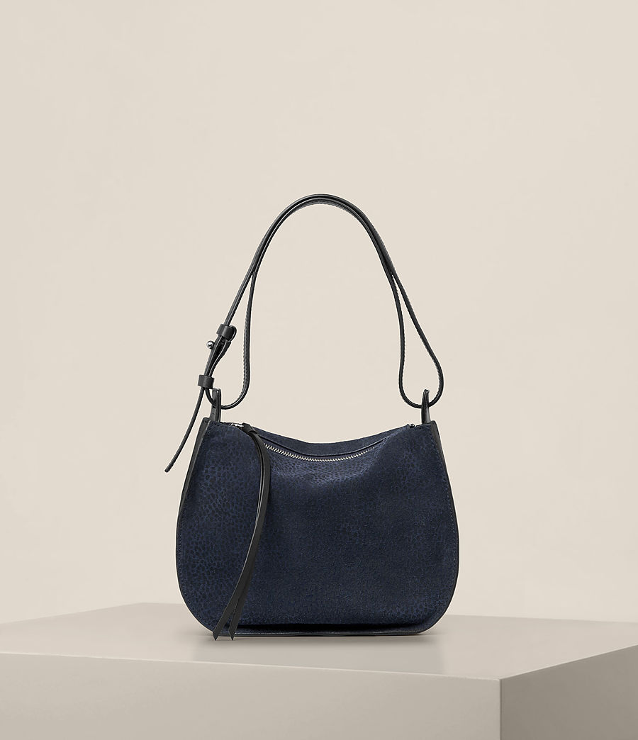 Women's Echo Mini Hobo Bag (marine_blue_black) - Image 1